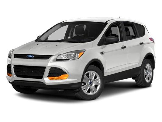 2014 Ford Escape Mpg >> 2014 Ford Escape 4wd 4dr Se