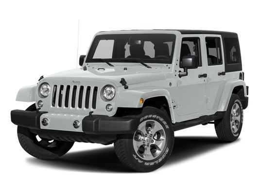 2017 Jeep Wrangler Unlimited Sahara In Sheridan Wy Fremont Ford